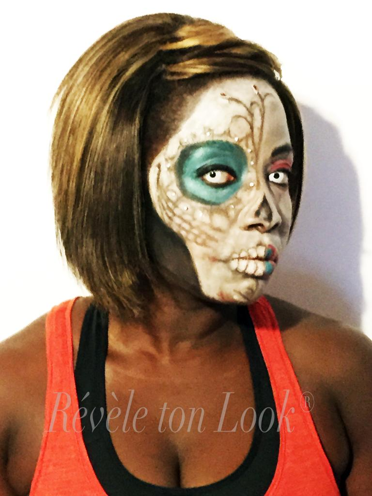 Maquillage Halloween 2014