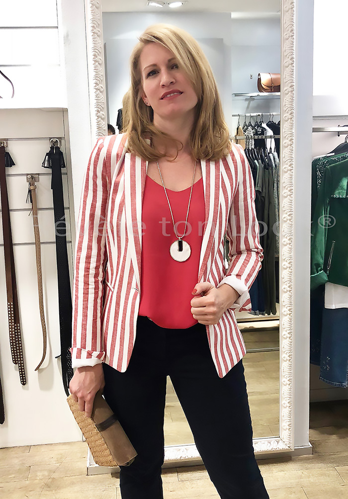 Lookcaroll veste rouge re ve letonlook 1