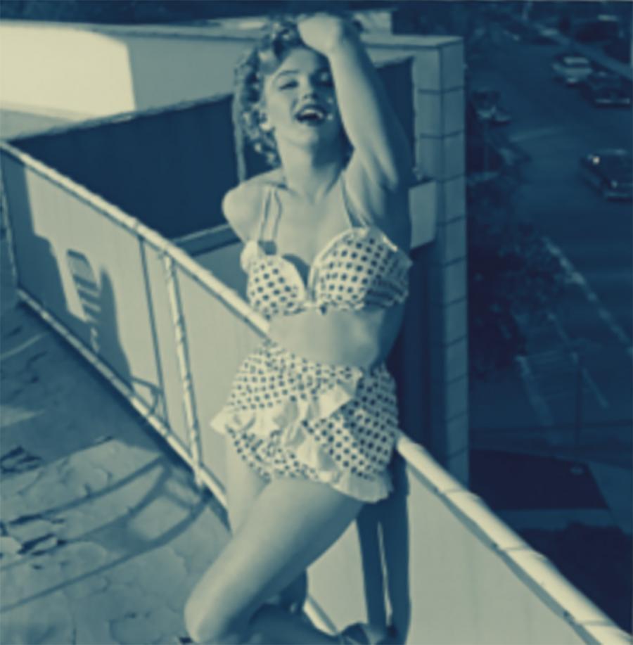 Marilynemonroe1951hotelcarltonlosangeles